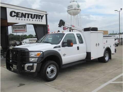 2016 Ford F-550 Super Duty for sale at CENTURY TRUCKS & VANS in Grand Prairie TX