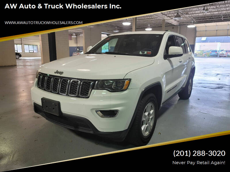 2017 Jeep Grand Cherokee for sale at AW Auto & Truck Wholesalers  Inc. in Hasbrouck Heights NJ
