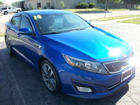 2014 Kia Optima for sale at USED CAR FACTORY in Janesville WI