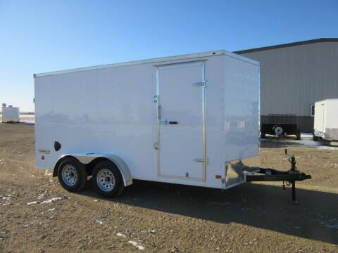 "2021 Haulmark 7' x 14"" for sale at Nore's Auto & Trailer Sales - Enclosed Trailers in Kenmare ND"