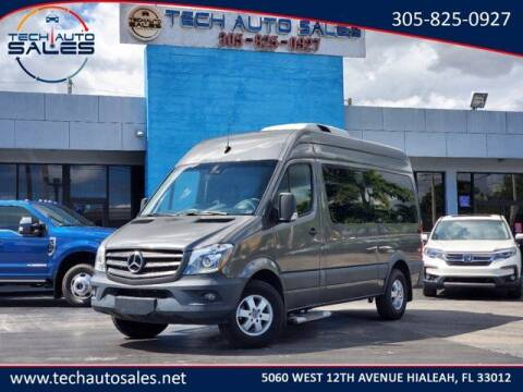 2018 Mercedes-Benz Sprinter Passenger for sale at Tech Auto Sales in Hialeah FL