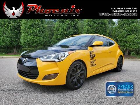 2012 Hyundai Veloster for sale at Phoenix Motors Inc in Raleigh NC