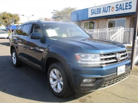 2018 Volkswagen Atlas for sale at Salem Auto Sales in Sacramento CA