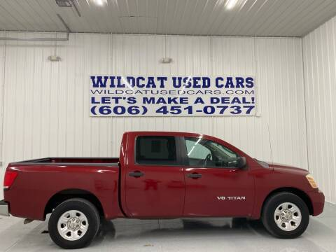 2006 Nissan Titan for sale at Wildcat Used Cars in Somerset KY
