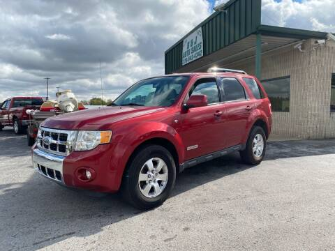 2008 Ford Escape for sale at B & J Auto Sales in Auburn KY
