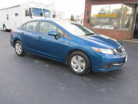 2013 Honda Civic for sale at Key Motors in Mechanicville NY