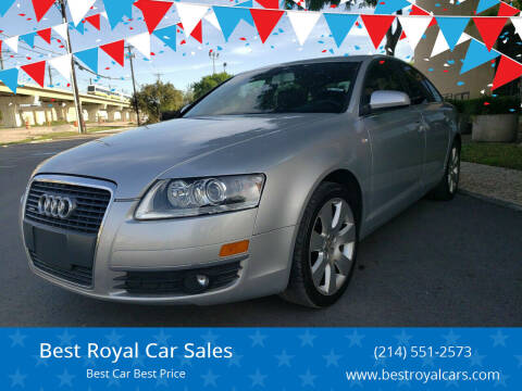 2007 Audi A6 for sale at Best Royal Car Sales in Dallas TX