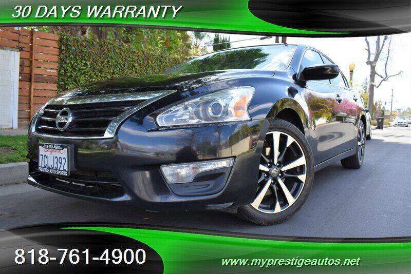 2014 Nissan Altima for sale at Prestige Auto Sports Inc in North Hollywood CA