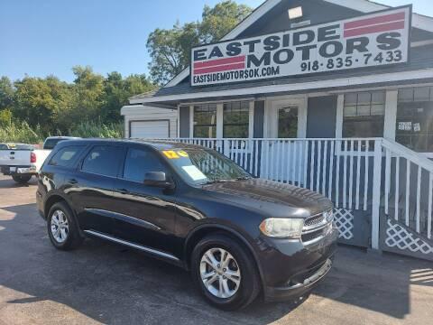 2012 Dodge Durango for sale at EASTSIDE MOTORS in Tulsa OK