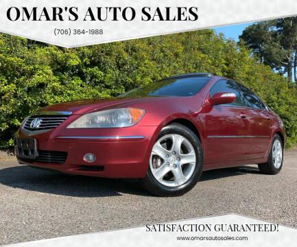 2007 Acura RL for sale at Omar's Auto Sales in Martinez GA