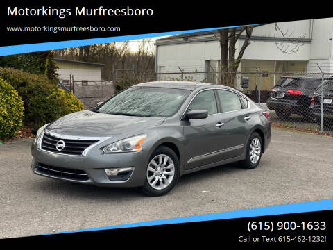 2015 Nissan Altima for sale at Motorkings Murfreesboro in Murfreesboro TN
