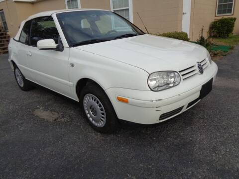 2001 Volkswagen Cabrio for sale at Liberty Motors in Chesapeake VA