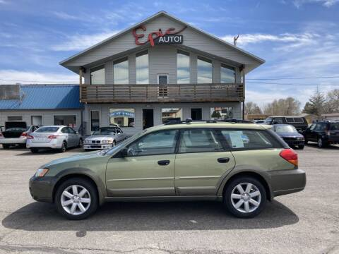 2007 Subaru Outback for sale at Epic Auto in Idaho Falls ID