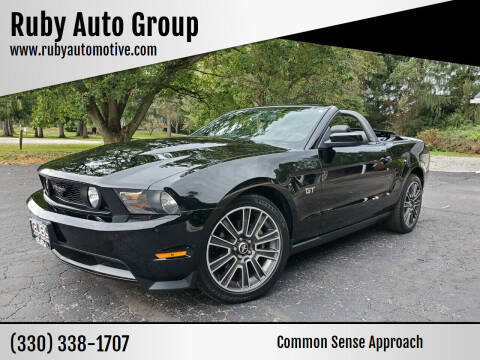2010 Ford Mustang for sale at Ruby Auto Group in Hudson OH