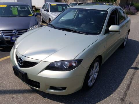 2008 Mazda MAZDA3 for sale at Howe's Auto Sales in Lowell MA