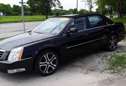 2011 Cadillac DTS for sale at Best Auto & tires inc in Milwaukee WI