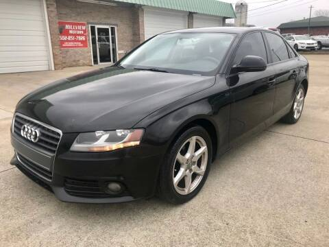2009 Audi A4 for sale at HillView Motors in Shepherdsville KY