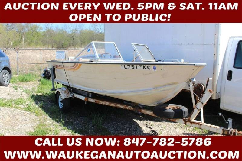 1983 SEA NYMPH FISH N SKI for sale at Waukegan Auto Auction in Waukegan IL