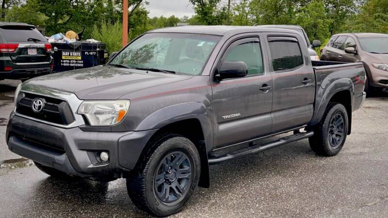 2015 Toyota Tacoma for sale at Top Line Import of Methuen in Methuen MA