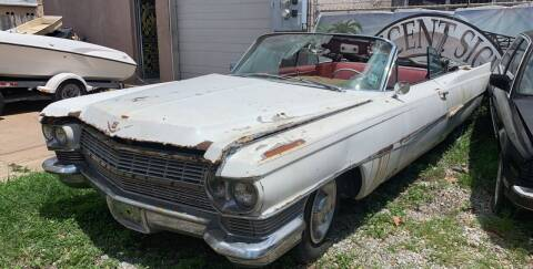 1963 Cadillac Fleetwood for sale at Crescent Collision Inc. in Jefferson LA