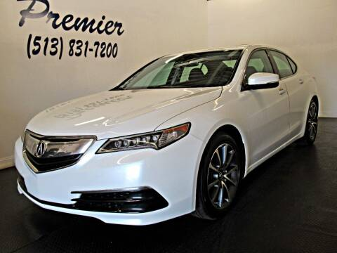 2017 Acura TLX for sale at Premier Automotive Group in Milford OH