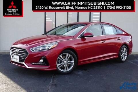 2018 Hyundai Sonata for sale at Griffin Mitsubishi in Monroe NC