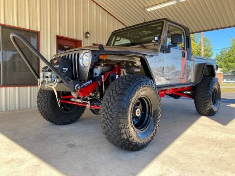 2004 Jeep Wrangler for sale at Sandlot Autos in Tyler TX