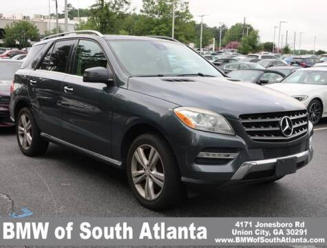 2013 Mercedes-Benz M-Class for sale at Carol Benner @ BMW of South Atlanta in Union City GA