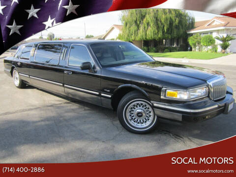 1995 Lincoln Town Car for sale at SoCal Motors in Los Alamitos CA
