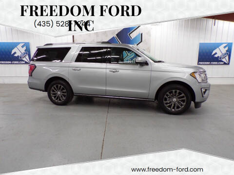 2020 Ford Expedition MAX for sale at Freedom Ford Inc in Gunnison UT