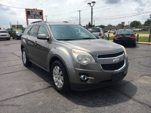 2010 Chevrolet Equinox for sale at Samford Auto Sales in Riverview MI