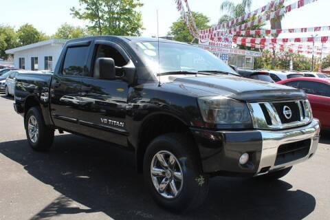 2012 Nissan Titan for sale at EXPRESS CREDIT MOTORS in San Jose CA