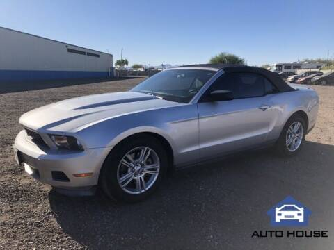 2012 Ford Mustang for sale at Auto House Phoenix in Peoria AZ