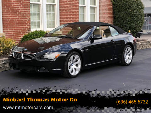 2007 BMW 6 Series for sale at Michael Thomas Motor Co in Saint Charles MO