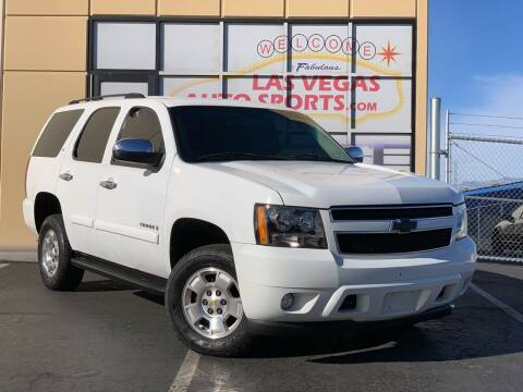 2009 Chevrolet Tahoe for sale at Las Vegas Auto Sports in Las Vegas NV