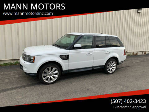 2013 Land Rover Range Rover Sport for sale at MANN MOTORS in Albert Lea MN