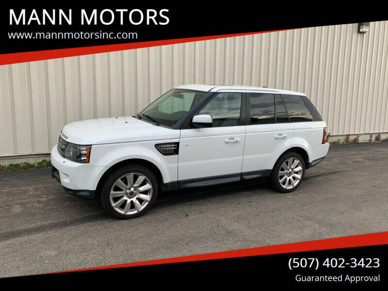 2013 Land Rover Range Rover Sport for sale at MANN MOTORS in Albert Lea MN