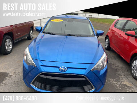 2016 Scion iA for sale at BEST AUTO SALES in Russellville AR