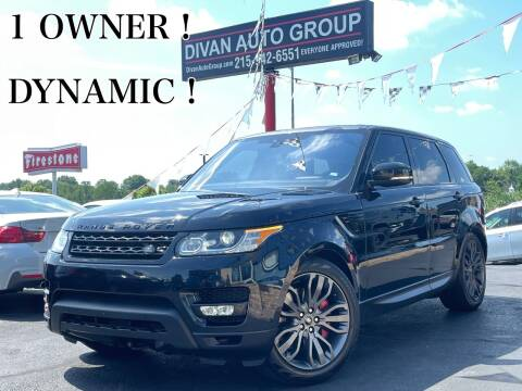 2017 Land Rover Range Rover Sport for sale at Divan Auto Group in Feasterville Trevose PA