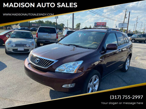 2008 Lexus RX 350 for sale at MADISON AUTO SALES in Indianapolis IN