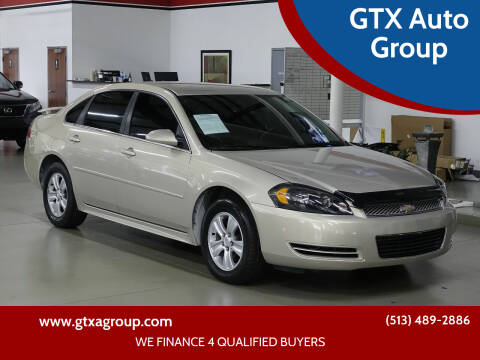 2012 Chevrolet Impala for sale at GTX Auto Group in West Chester OH