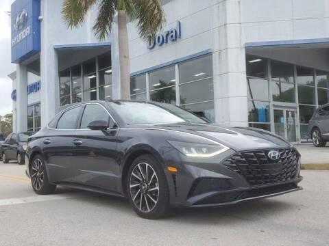 2020 Hyundai Sonata for sale at DORAL HYUNDAI in Doral FL