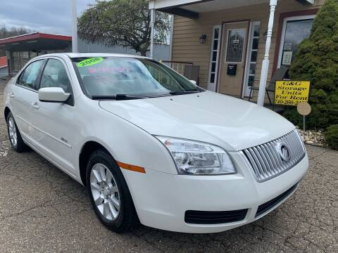 2008 Mercury Milan for sale at G & G Auto Sales in Steubenville OH