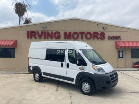 2015 RAM ProMaster Cargo for sale at Irving Motors Corp in San Antonio TX