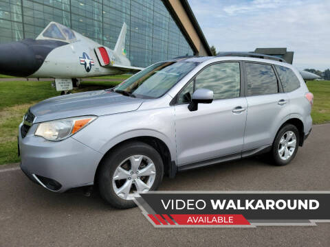 2014 Subaru Forester for sale at McMinnville Auto Sales LLC in Mcminnville OR