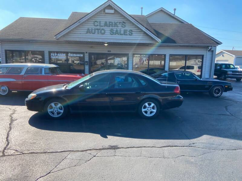 2003 Ford Taurus for sale at Clarks Auto Sales in Middletown OH