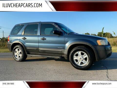 2001 Ford Escape for sale at ILUVCHEAPCARS.COM in Tulsa OK