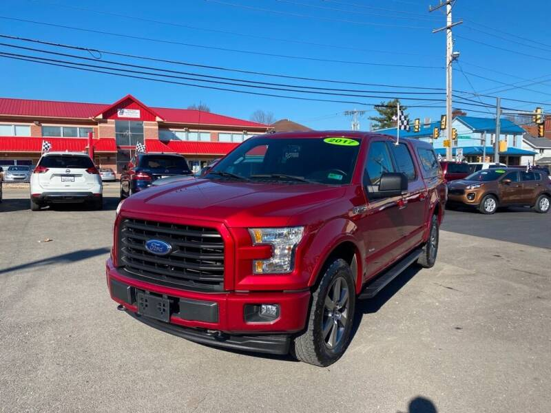 2017 Ford F-150 for sale at Sisson Pre-Owned in Uniontown PA