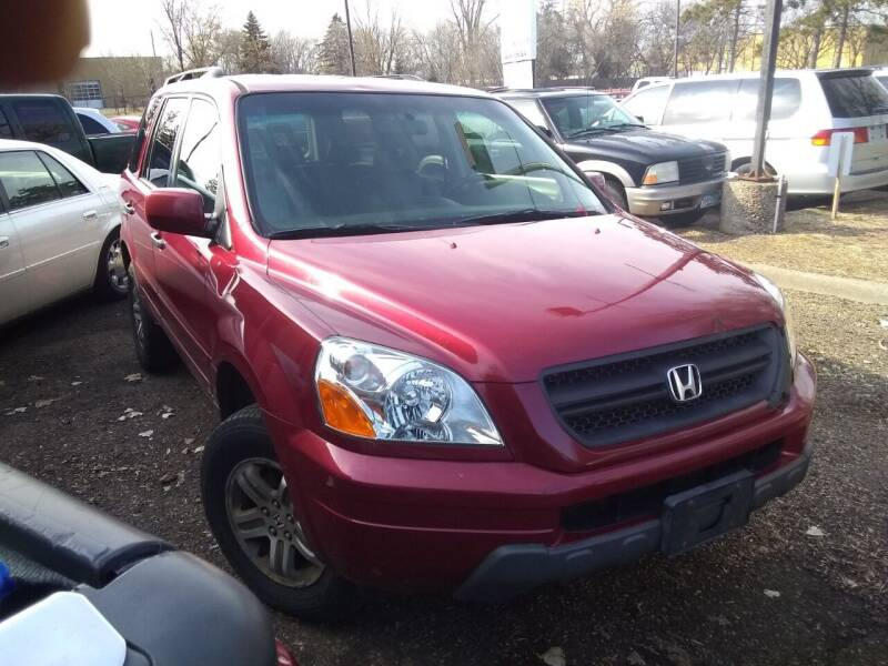 2003 Honda Pilot for sale at Continental Auto Sales in White Bear Lake MN