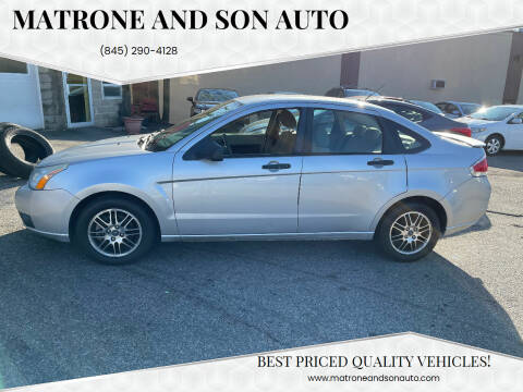 2010 Ford Focus for sale at Matrone and Son Auto in Tallman NY
